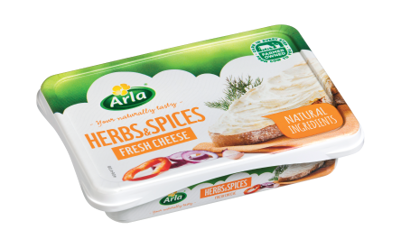 Arla Cream Cheese - Herbs And Spices