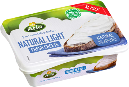 Arla Cream Cheese -Natural Light 250gr